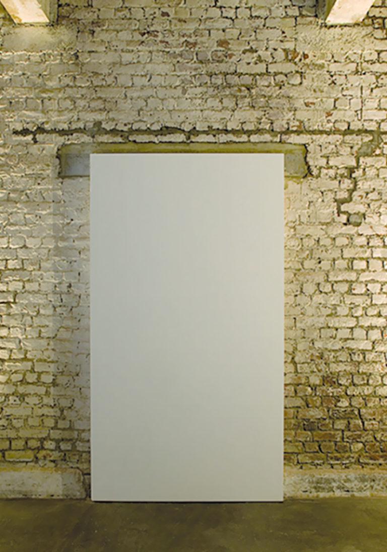FRONT 001 de deur staat voor de muur