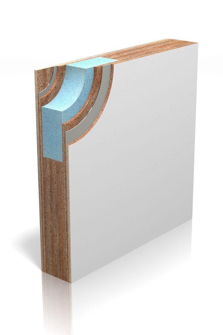 Isolerend deurblad